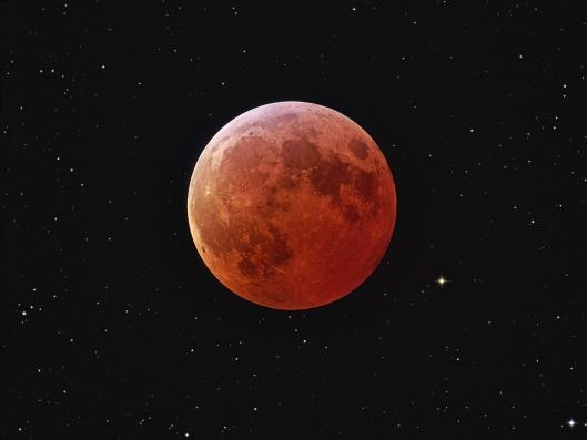 Blushing Moon