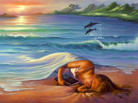Tranquil Sea..Sleep