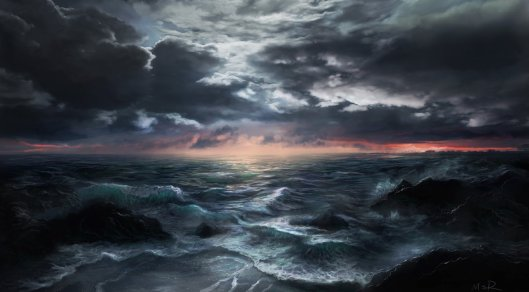 This Vast Ocean..restless_sea_by_mrasmussen