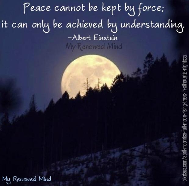 Peace kept