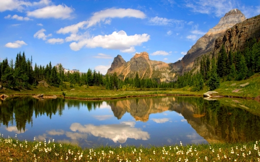 Moor Lakes, Yoho National Park, B.C.
