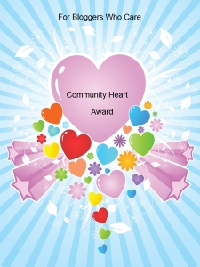 community Heart award