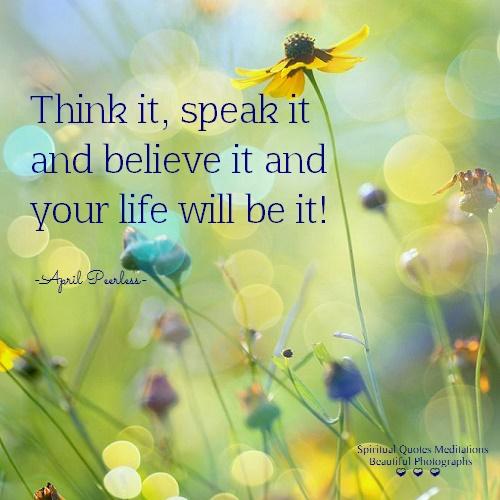 Believe it..