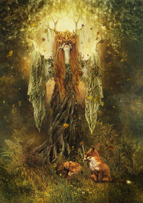 Priestess of Spring