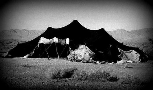 black-tent